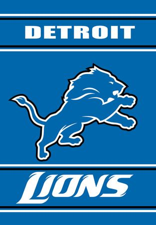NFL Detroit Lions 2-Sided House Banner