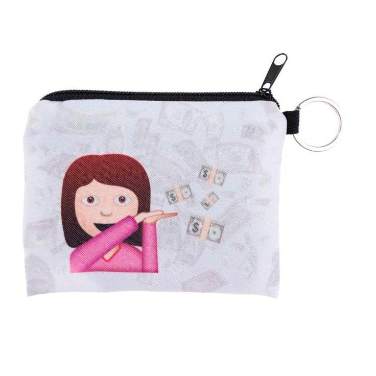 $0.68 (Buy here: https://alitems.com/g/1e8d114494ebda23ff8b16525dc3e8/?i=5&ulp=https%3A%2F%2Fwww.aliexpress.com%2Fitem%2F2016-Funny-Womens-Emoji-Wallet-Card-Holder-Coin-Purse-Wallet-Bag-Change-Pouch-Key-Holder-Bolsa%2F32781597267.html ) 2016 Funny Womens Emoji Wallet Card Holder Coin Purse Wallet Bag Change Pouch Key Holder Bolsa Da moeda Bonita Dec20 for just $0.68