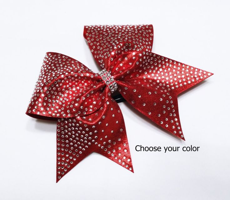 Cheer bow, Rhinestone cheer bow, Red cheer bow, cheerleading bow, cheerleader bow, dance bow, softball bow, cheerbow, pop warner cheer bow by MadeForMeCheerBows on Etsy https://www.etsy.com/listing/245830284/cheer-bow-rhinestone-cheer-bow-red-cheer