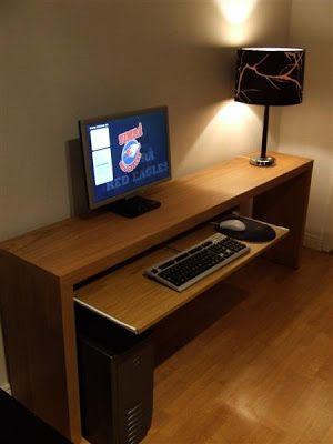 Las 25 mejores ideas sobre mesas de ordenador en - Mesa metacrilato ikea ...