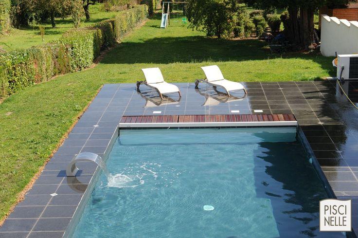 17 meilleures id es propos de piscine rectangulaire sur pinterest am nagement paysager de la. Black Bedroom Furniture Sets. Home Design Ideas