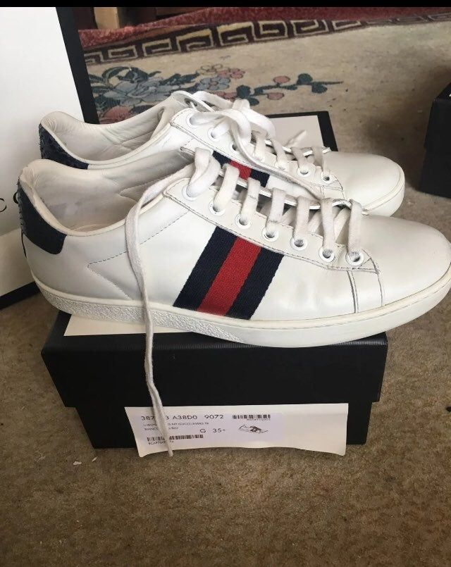 Gucci - Ace Leather Sneaker, size 35.5