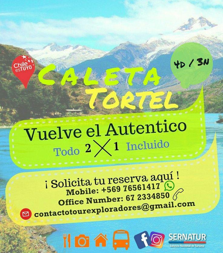 """Con quién vendrías a recorrer #CaletaTortel? ¡Vacaciones de invierno en parejas! """"Solicita tu Reserva"""" +info: contactotourexploradores@gmail.com"""