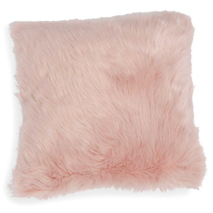 Best 25 pink gold bedroom ideas on pinterest pink - Housse de coussin fausse fourrure ...