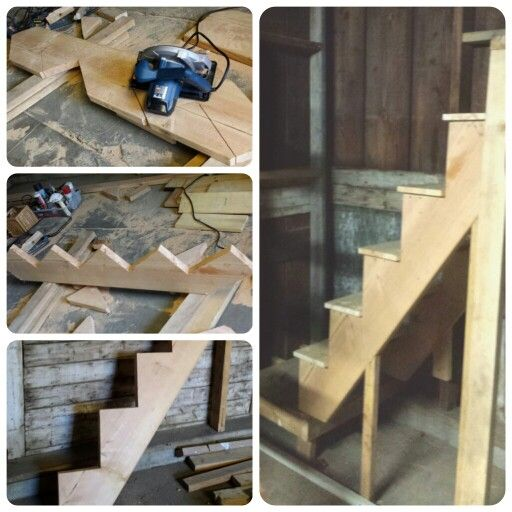 12 Diy Old Pallet Stairs Ideas: How To Build Stairs,DIY, Cheap Alternative To Store