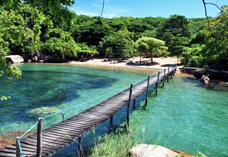 Lake Malawi - Africa * Lake Malawi is Africa's third-largest lake, and teems with tropical fish, including over 800 species of highly colored cichlids, many only found here.  The Lake forms the border between Malawi, Tanzania and Mozambique.