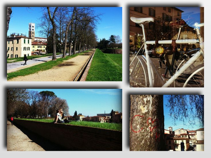 Finally springtime came in Lucca!!