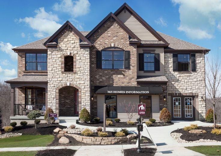 45 best mi homes exterior colors images on pinterest exterior colors bricks and white trim - House exterior paint images model ...