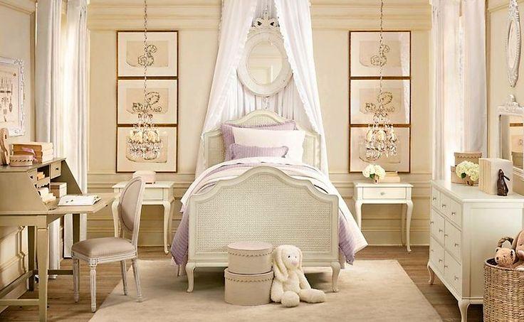Детская комната для маленькой девочки может быть не просто красиво оформлена, это должна быть сказка на яву, роскошные палаты для маленькой принцессы! Не столь традиционно, но, конечно же, очень феерично и сказочно будут смотреться в спальне вашей д...