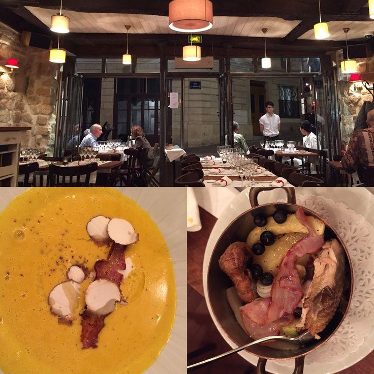 """Ristorante """"Aux trois petits cochons"""" : cucina artigianale ma raffinata, ambiente semplice ma chic, prezzi abbordabili. Un'abitudine ormai consolidata."""