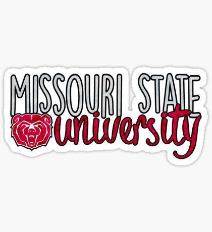 Missouri State University Sticker