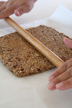 συνταγή για μπάρες δημητριακών