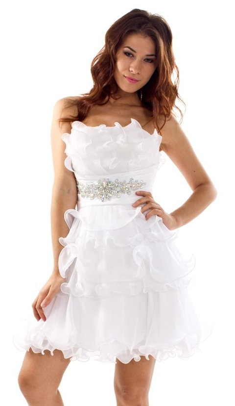 38 best wedding reception dress images on pinterest for White dress for wedding reception