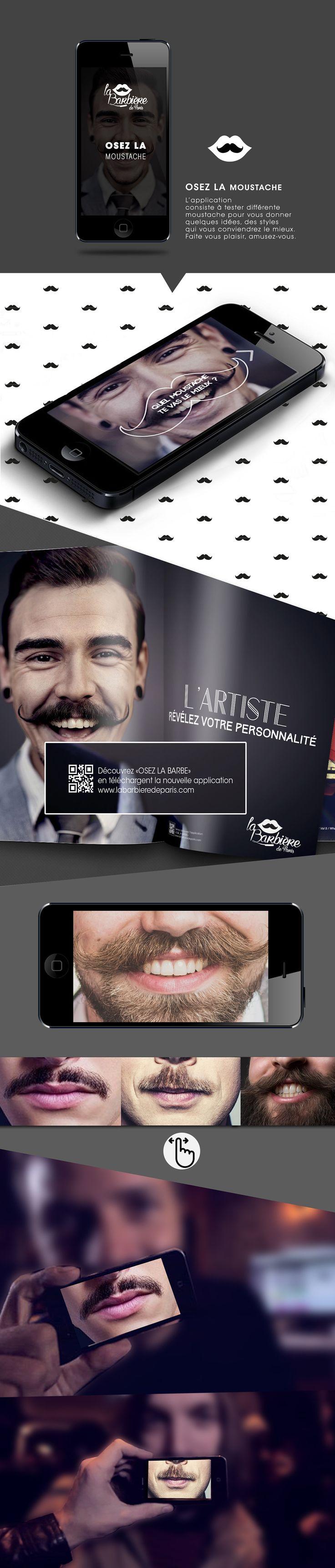 La barbière de paris - Application on Behance