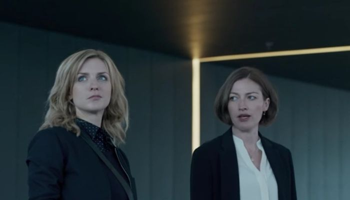 Faye Marsay and Kelly Macdonald in Hated in the Nation