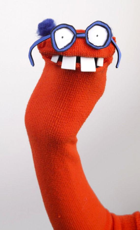 Marionetas calcetín / Sock puppets                                                                                                                                                      Más