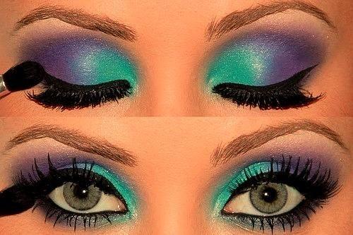Cool colors.