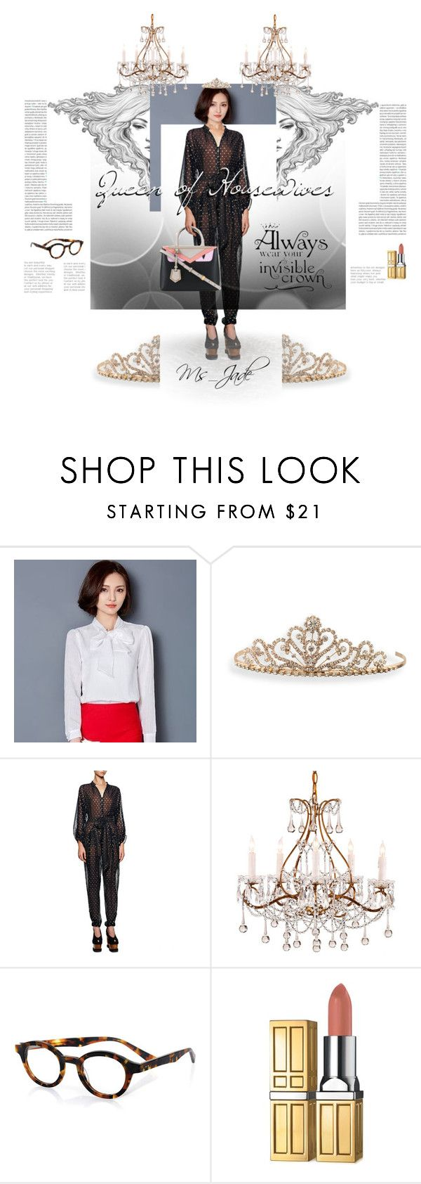 """Queen of Housewives Fan Art Fashion Set"" by ms-jade-1 ❤ liked on Polyvore featuring Oris, Lavogo, BillyTheTree, STELLA McCARTNEY, eyebobs, Elizabeth Arden, fashionset, fanart, kdrama and ms_jade"