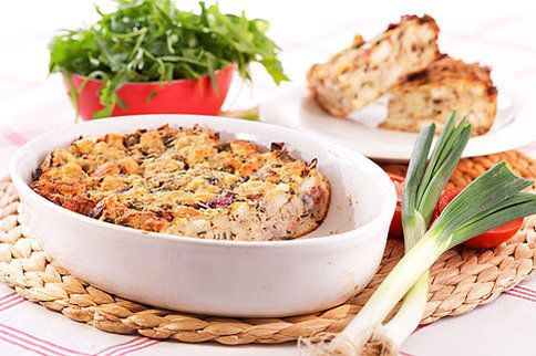 Jarní nádivka z toastového chleba provoní i váš byt