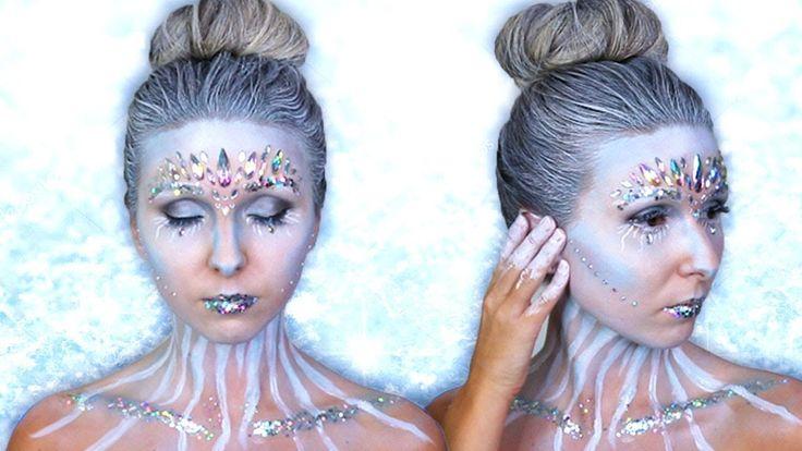 snow white makeup tutorial halloween