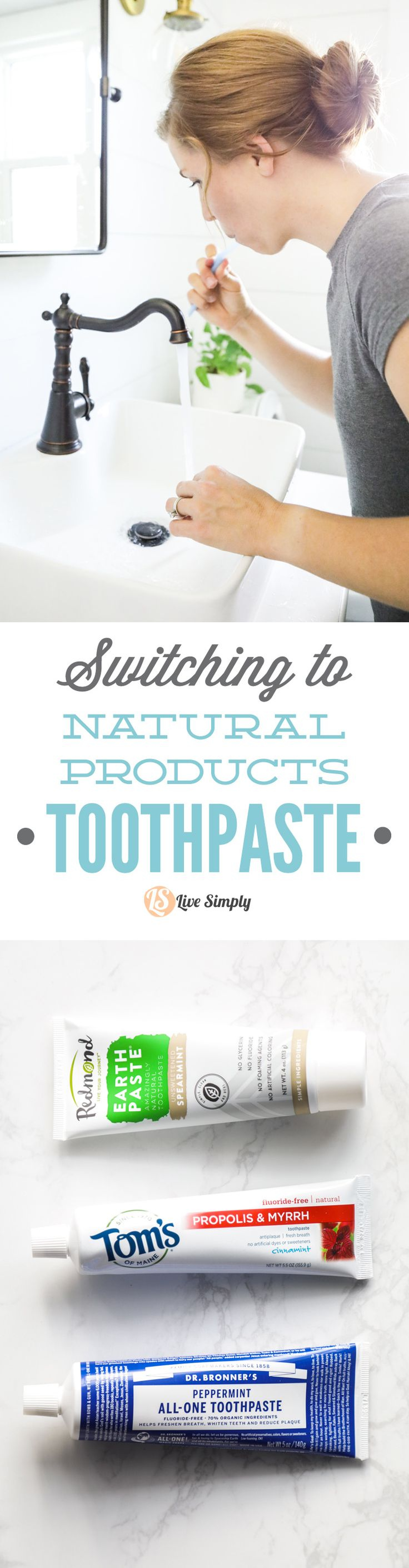 Make the switch to natural toothpaste. The best natural toothpaste options, from homemade to store-bought!