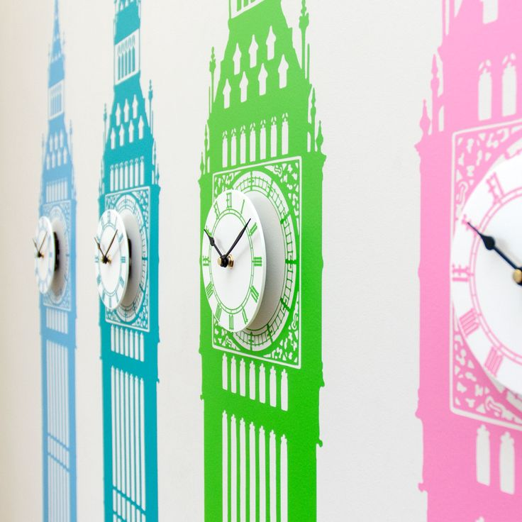 17 best Clock Wall Stickers images on Pinterest Clock wall Wall