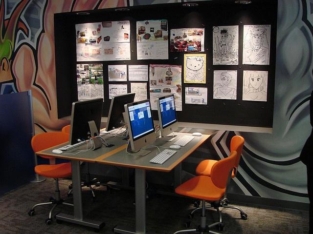 Atlantic City NJ Teen Space Computers And Bulletin Board