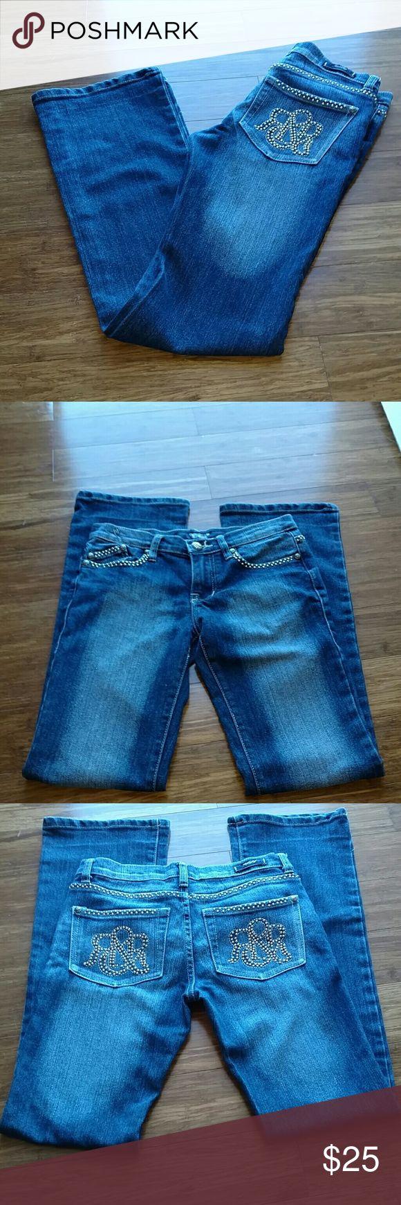 Rock & Republic No Flaws very nice straight leg size 27 made in U.S.A Rock & Republic Jeans Straight Leg