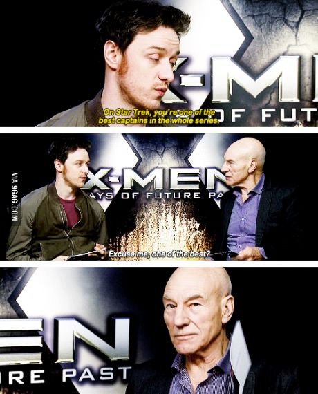 """One does not simply pass Patrick Stewart off as """"one of"""" the best Star Trek captains."""
