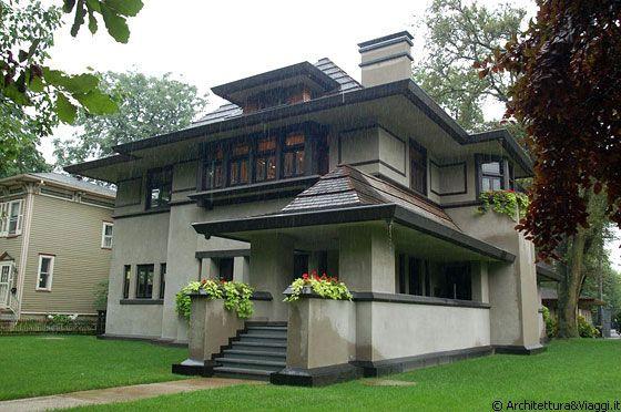 M s de 25 ideas incre bles sobre casas estilo tudor ingles for Architettura wright
