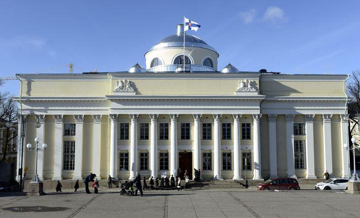 Kansalliskirjasto, Helsinki.