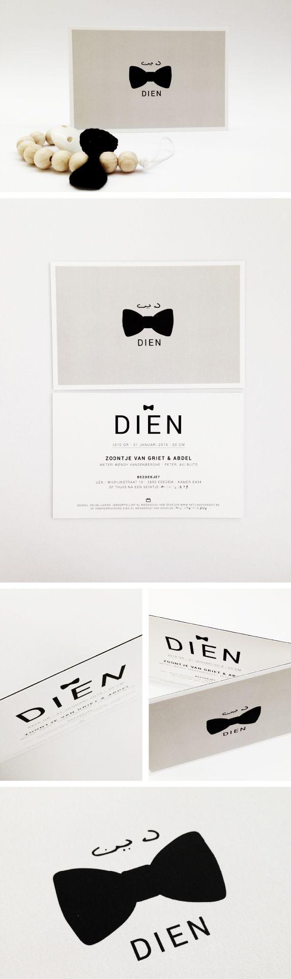 Birth Announcement / Dien