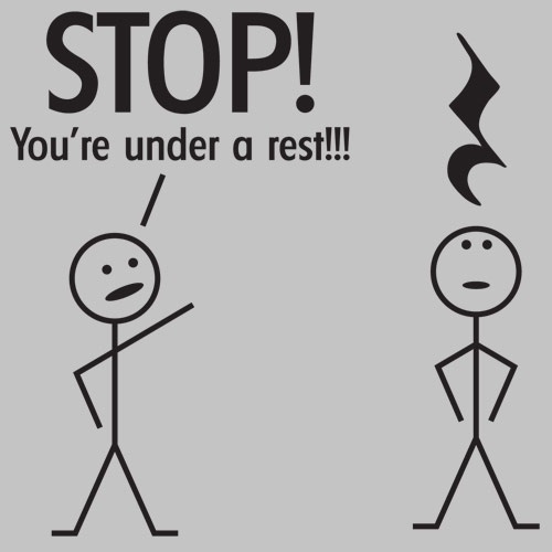 Musical Pun: Music Jokes, Laughing, Musichumor, Music Puns, Funny Stuff, You R, Bands Geek, Musicpuns, Music Humor