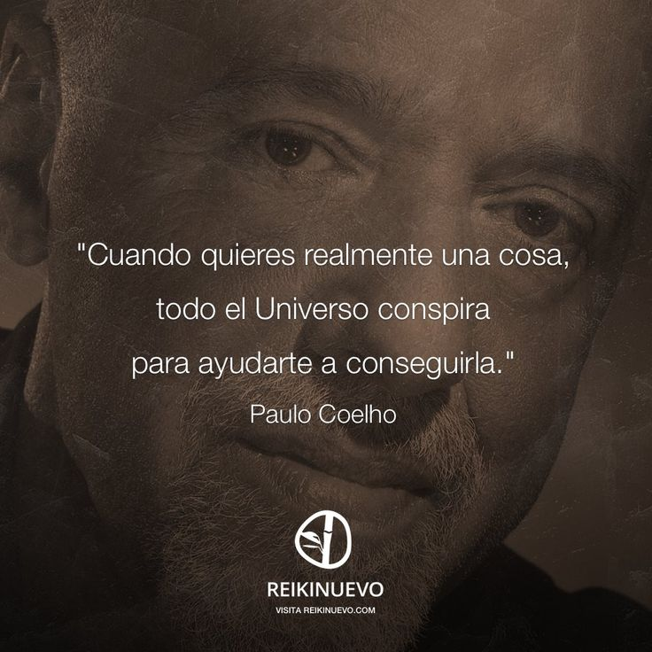 Paulo Coelho: El Universo conspira http://reikinuevo.com/paulo-coelho-universo-conspira/