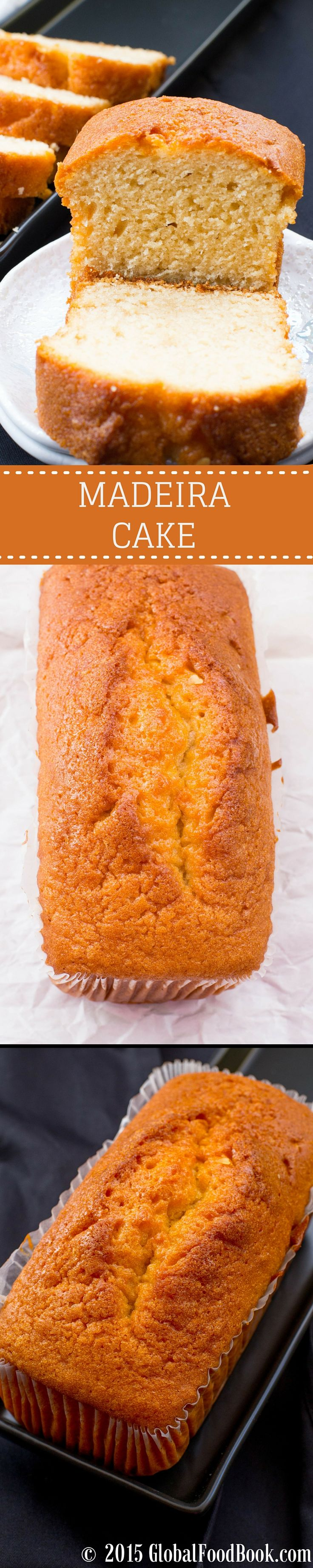 MADEIRA CAKE. Being one of my all favorite cakes, I can tell you for sure that this Madeira cake recipe is a no brainer at all. Although this Madeira cake is very easy to make but yet super delicious and tantalizing..  .