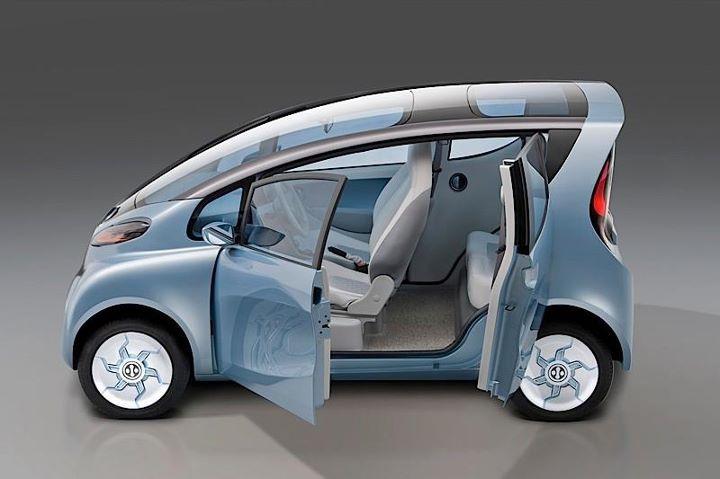electric cars | Tata Emo Electric Car at 2012 Detroit Motor Show