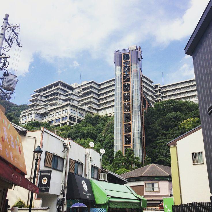 箕面観光ホテル、西澤文隆設計、1968年