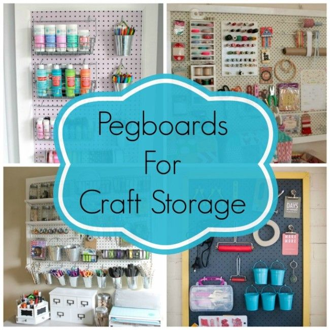Small craft space storage solutions and sew we craft for Storage solutions for craft rooms