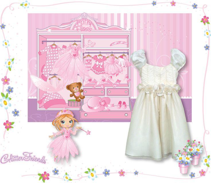 Glitter Friends Fairy Floss Cornelli dress