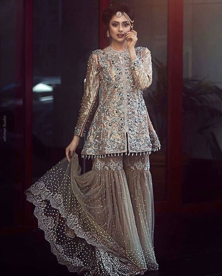 Pakistani couture by Allechant