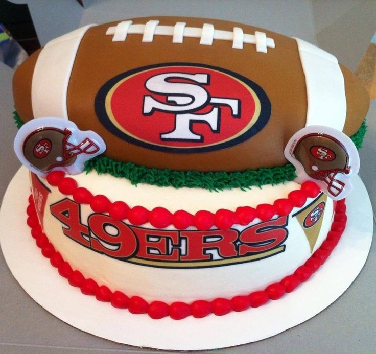 44 Best 49ers Cakes Images On Pinterest 49ers Cake Boy