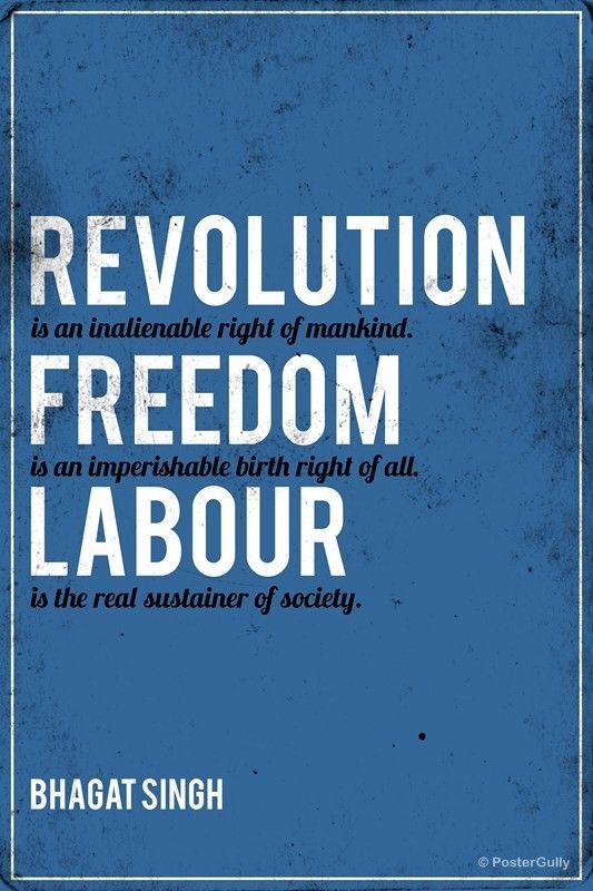 Revolution Bhagat Singh Quote