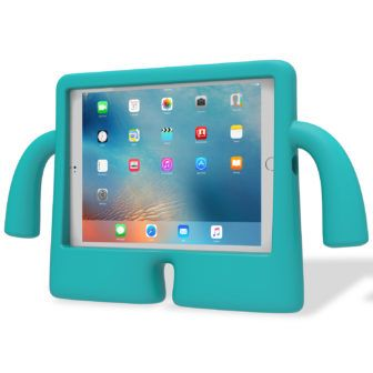 Every bit as protective as he is fun— this free-standing foam iPad Air case is perfect for little ones and the big kid in all of us. His soft squishy body disguises a tough EVA foam construction that meets all the requirements for MIL-STD-810G drop test standards, guaranteeing a dependable military-grade protective iPad Air case. iGuy is the perfect 9.7-inch iPad Pro case for all the rough and tumble of growing up. @speckproducts