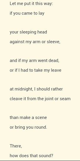 """Let Me Put It This Way"" by Simon Armitage"