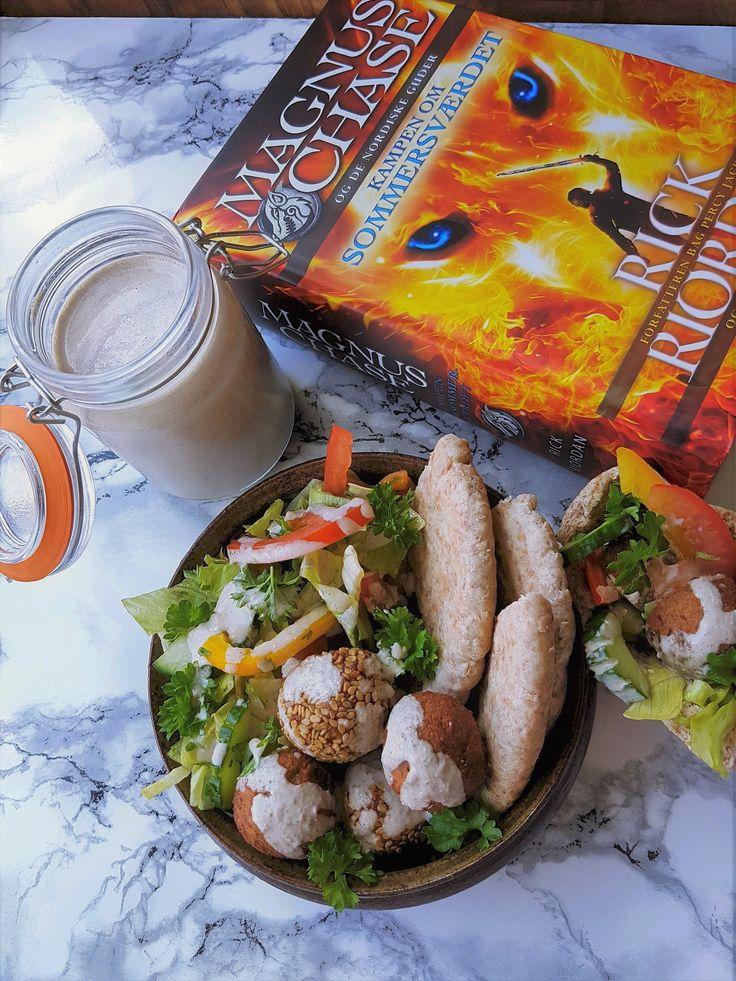 Falafel from Magnus Chase and the Sword of Summer