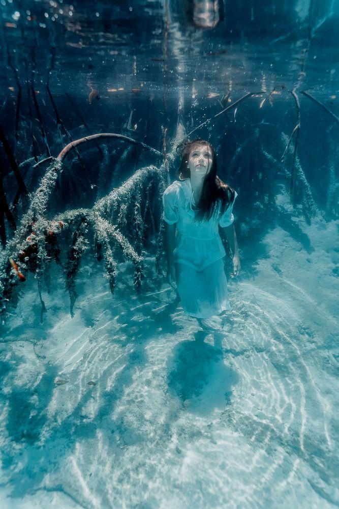 Elena Kalis #underwater #photography