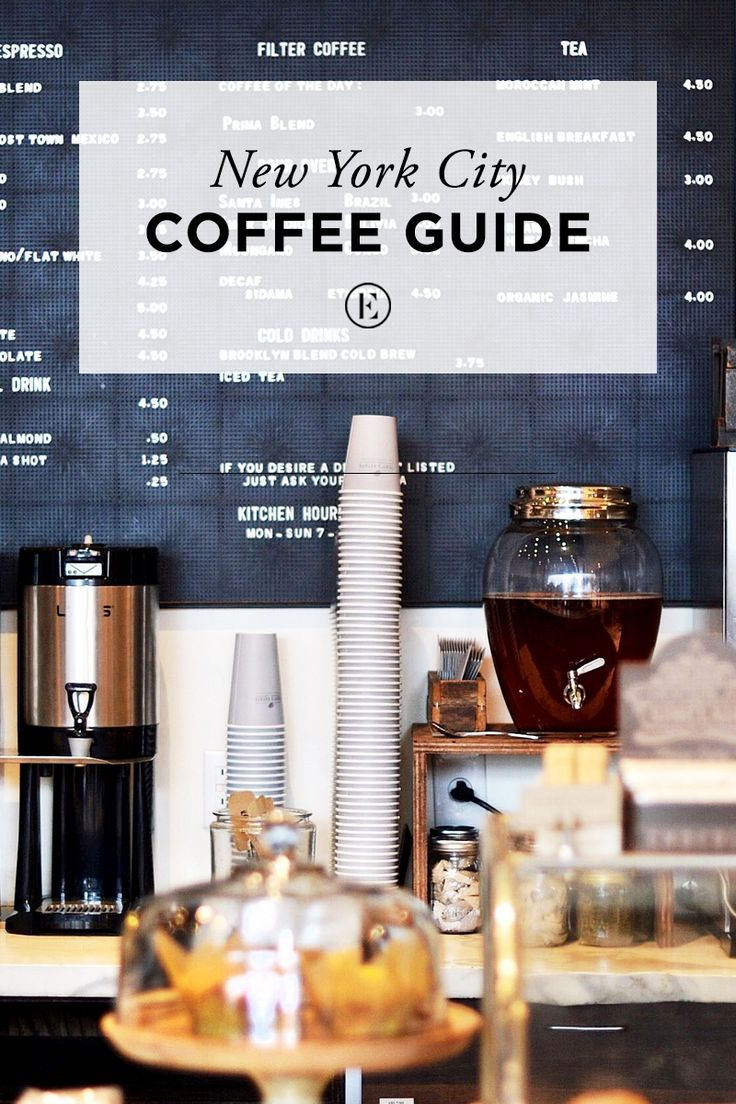 New York City Coffee Guide  #theeverygirl
