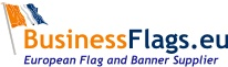 BusinssFlags.eu levert vlaggen, banieren, beachvlaggen, spandoeken en vlaggenmasten internationaal