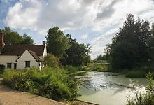 How Constable's Haywain painting now looks today - virtually untouched!!