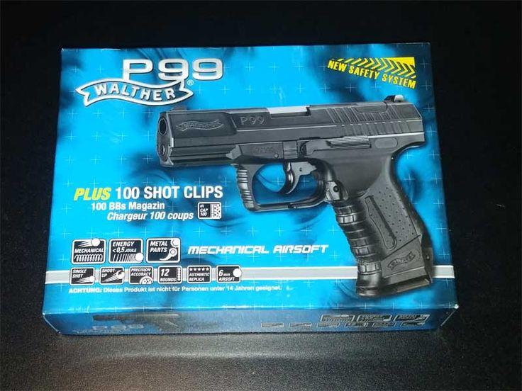 Softair Walther P99 Umarex Verpackung